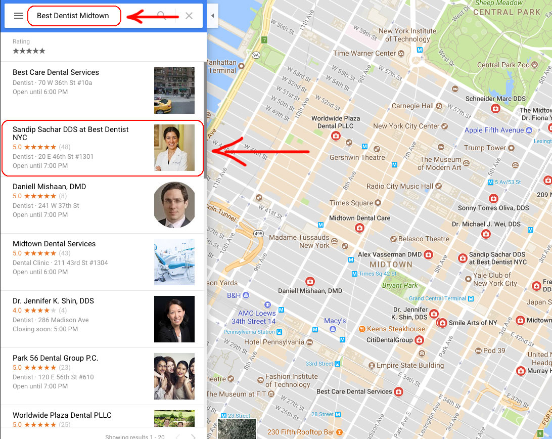 best-dentist-midtown-nyc-best-google-marketing