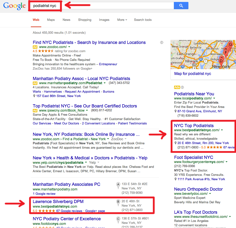 best-seo-marketing-for-podiatrists-nyc
